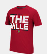 Men's adidas Louisville Cardinals College Dassler City T-Shirt