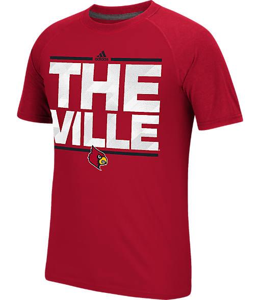 Men's adidas Louisville Cardinals College Dassler City T-Shirt
