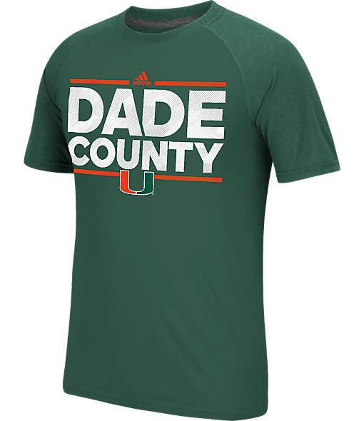 Men's adidas Miami Hurricanes College Dassler City T-Shirt