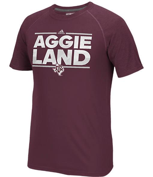 Men's adidas Texas A&M Aggies College Dassler City T-Shirt