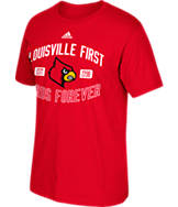 Men's adidas Louisville Cardinals College Prevent T-Shirt