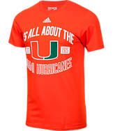 Men's adidas Miami Hurricanes College Prevent T-Shirt