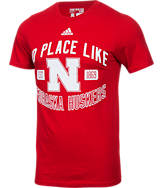 Men's adidas Nebraska Cornhuskers College Prevent T-Shirt