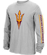 Men's adidas Arizona State Sun Devils College Sleeve Play Long-Sleeve T-Shirt