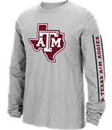 Men's adidas Texas A&M Aggies College Sleeve Play Long-Sleeve T-Shirt