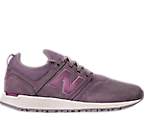 Women's New Balance 247 Nubuck Casual Shoes