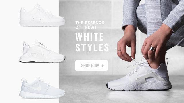 Women's White Shoes. Shop Now.