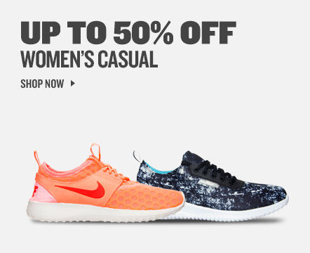 Up To 50% Off Women's Casual. Shop Now.