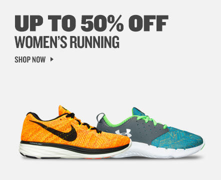 Up To 50% Off Women's Running. Shop Now.