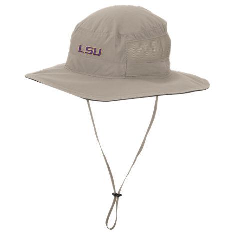 Columbia LSU Tigers College Bora Bora Booney II Bucket Hat