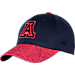 Front view of Top Of The World Arizona Wildcats College Lightspeed Flex Fit Hat in Team Colors