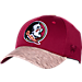 Front view of Top Of The World Florida State Seminoles College Lightspeed Flex Fit Hat in Team Colors