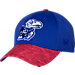 Front view of Top Of The World Kansas Jayhawks College Lightspeed Flex Fit Hat in Team Colors