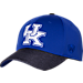 Front view of Top Of The World Kentucky Wildcats College Lightspeed Flex Fit Hat in Team Colors