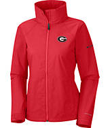 Women's Columbia Georgia Bulldogs College Switchback Jacket