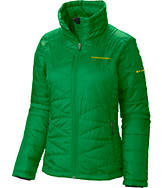 Women's Columbia Oregon Ducks College Mighty Lite Jacket
