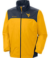 Men's Columbia West Virginia Mountaineers College Glennaker Jacket