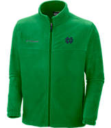 Men's Columbia Notre Dame Fighting Irish College Flanker Full-Zip Jacket