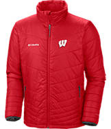 Men's Columbia Wisconsin Badgers College Mighty Lite Jacket