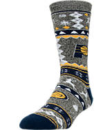For Bare Feet Indiana Pacers NBA Ugly Sweater Crew Socks