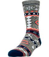 For Bare Feet Chicago Bears NFL Ugly Sweater Crew Socks