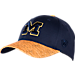 Front view of Top Of The World Michigan Wolverines College Lightspeed Flex Fit Hat in Team Colors