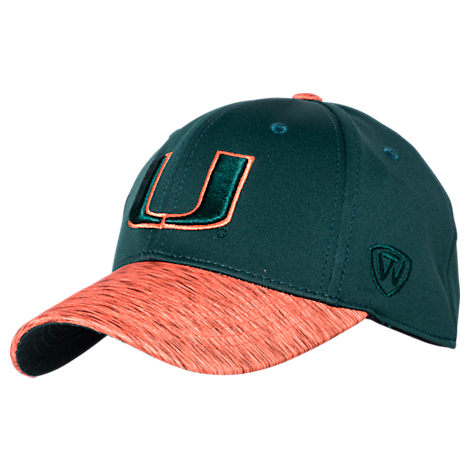 Top Of The World Miami Hurricanes College Lightspeed Flex Fit Hat