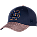 Front view of Top Of The World Notre Dame Fighting Irish College Lightspeed Flex Fit Hat in Team Colors
