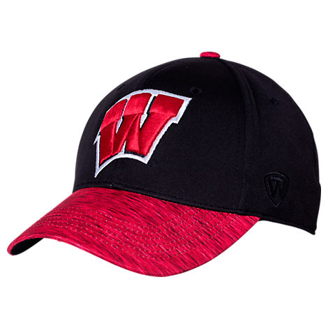 Top Of The World Wisconsin Badgers College Lightspeed Flex Fit Hat