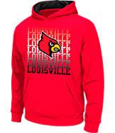 Kids' Stadium Louisville Cardinals College Pullover Hoodie