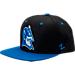 Front view of Zephyr Duke Blue Devils College Z11 Snapback Hat in Black