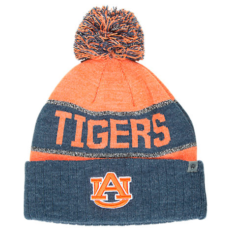 Top of the World Auburn Tigers College Below Zero Cuffed Pom Knit Hat