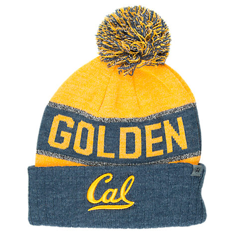 Top of the World Cal Golden Bears College Below Zero Cuffed Pom Knit Hat