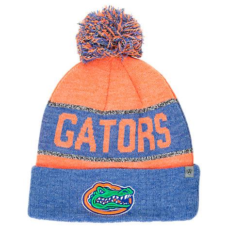 Top of the World Florida Gators College Below Zero Cuffed Pom Knit Hat