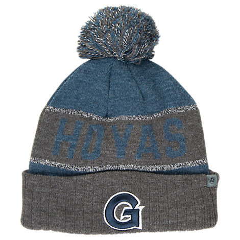 Top of the World Georgetown Hoyas College Below Zero Cuffed Pom Knit Hat