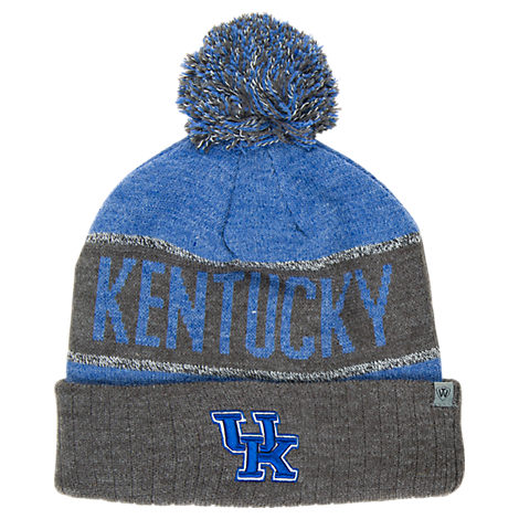 Top of the World Kentucky Wildcats College Below Zero Cuffed Pom Knit Hat