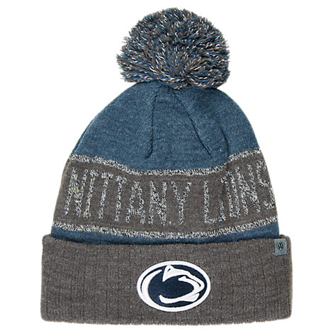 Top of the World Penn State Nittany Lions College Below Zero Cuffed Pom Knit Hat