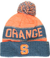 Top of the World Syracuse Orange College Below Zero Cuffed Pom Knit Hat