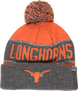Top of the World Texas Longhorns College Below Zero Cuffed Pom Knit Hat
