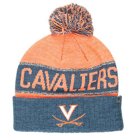 Top of the World Virginia Cavaliers College Below Zero Cuffed Pom Knit Hat