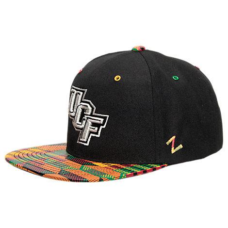 Zephyr Central Florida Knights College Zukente Snapback Hat