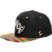 Front view of Zephyr Central Florida Knights College Zukente Snapback Hat in Team Colors