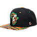 Front view of Zephyr Cincinnati Bearcats College Zukente Snapback Hat in Team Colors