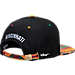 Back view of Zephyr Cincinnati Bearcats College Zukente Snapback Hat in Team Colors