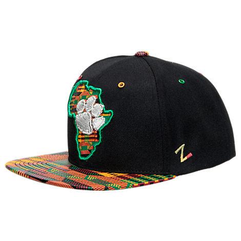 Zephyr Clemson Tigers College Zukente Snapback Hat