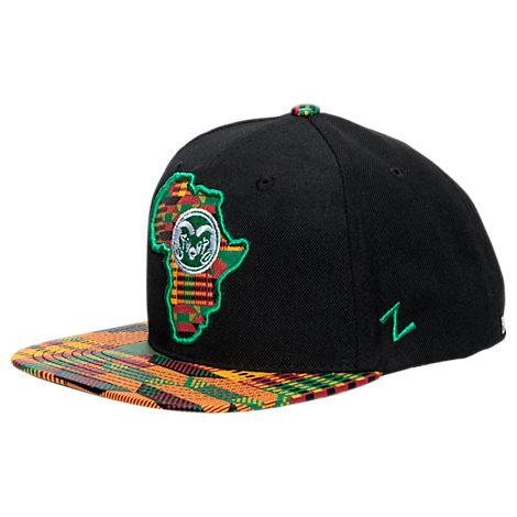 Zephyr Colorado State Rams College Zukente Snapback Hat