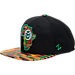 Front view of Zephyr Colorado State Rams College Zukente Snapback Hat in Team Colors