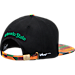 Back view of Zephyr Colorado State Rams College Zukente Snapback Hat in Team Colors