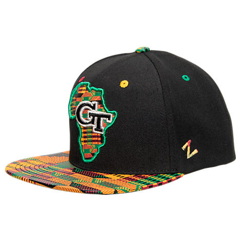 Zephyr Georgia Tech Yellow Jackets College Zukente Snapback Hat