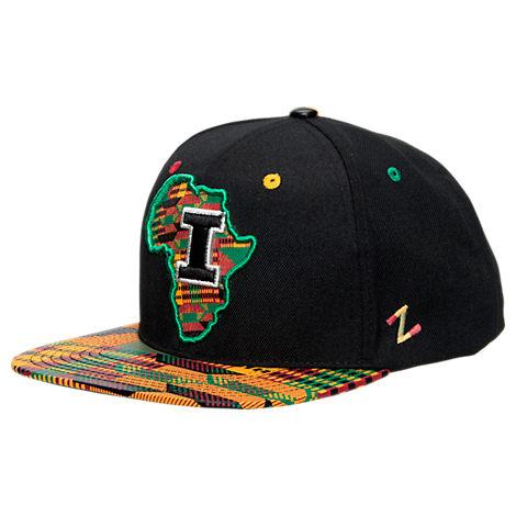 Zephyr Illinois Fighting Illini College Zukente Snapback Hat